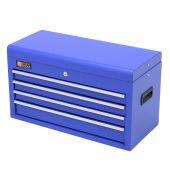 George Tools werkzeugkiste 4 schubladen blau