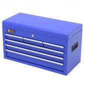 George Tools werkzeugkiste blau 6 schubladen