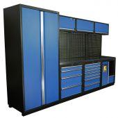 Kraftmeister Werkstatteinrichtung Halifax Edelstahl Nextgen blau