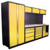 Kraftmeister Werkstatteinrichtung Halifax Nextgen gelb