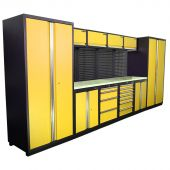 Kraftmeister Werkstatteinrichtung Winnipeg Nextgen gelb