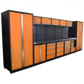 Kraftmeister Werkstatteinrichtung Montreal Edelstahl Nextgen orange