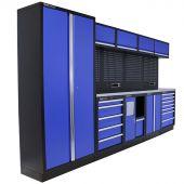 Kraftmeister Werkstatteinrichtung New Jersey Edelstahl blau