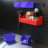 Kraftmeister Sichtbox 220 x 140 x 125 mm - Blau