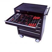 George Tools Werkzeugwagen gefüllt - 6 Schubladen - 80-teilig
