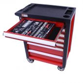 George Tools Werkzeugwagen gefüllt - Redline - 247-teilig