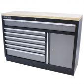 Kraftmeister Werkzeugschrank mit 7 Schubladen und Aufbewahrungsschrank